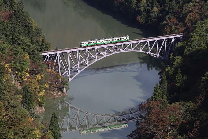 絶景の「只見川第一橋梁」を俯瞰しよう!