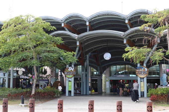終着・台東駅は南国のターミナル