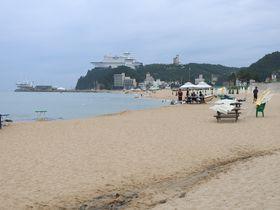 目の前がビーチ!韓国「正東津」嶺東線乗り撮り歩き列車の旅