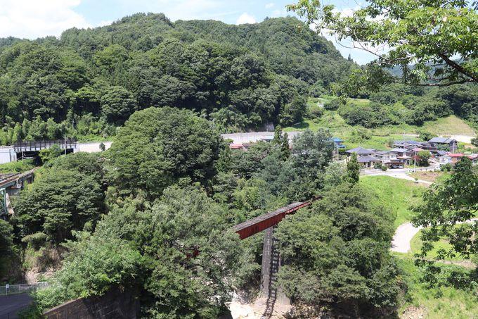 長野原草津口駅から白砂川の上流へ