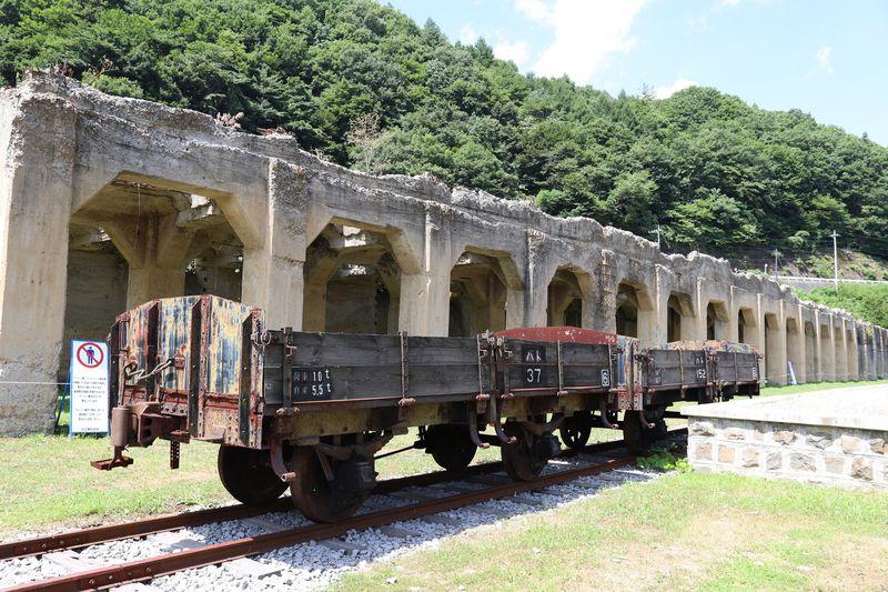 群馬鉄山の産業遺構〜旧太子駅と廃線跡をたどってみよう