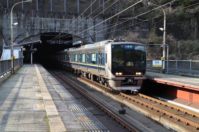 散策のスタートは武田尾駅から