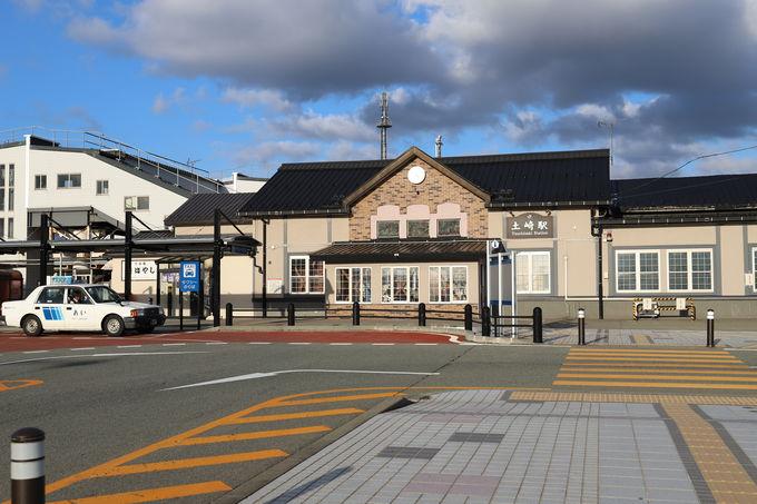 まずは土崎駅から歴史散策を