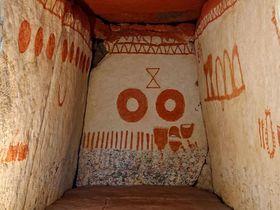 古墳の内部が見学できる!茨城「虎塚古墳」で遺跡探索