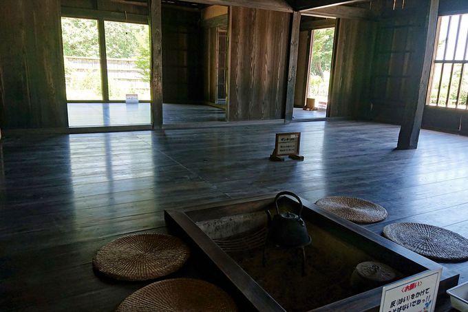 江戸時代前期に建てられた主屋
