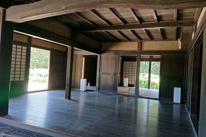江戸時代中期に建てられた隠居屋