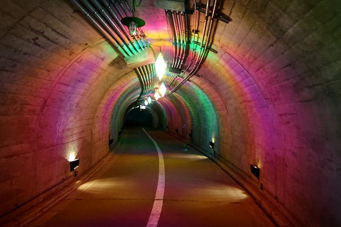 光トンネル!