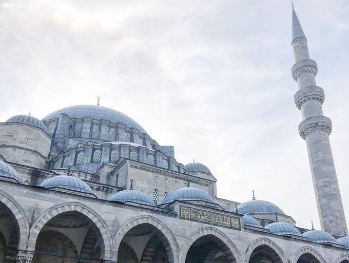 世界遺産「イスタンブール歴史地区」内にあるモスク