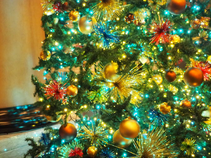熱海を感じて!「花火クリスマスツリー」