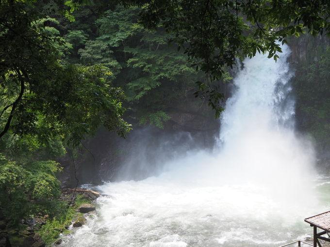 七滝最大級の「大滝」