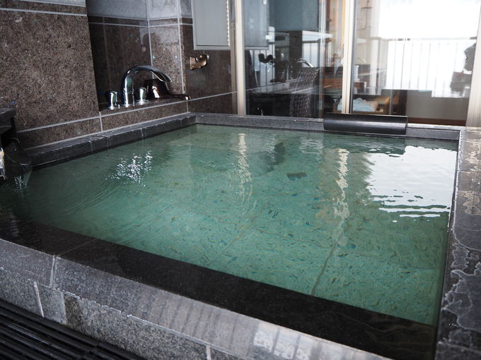 プライベートで楽しむ温泉