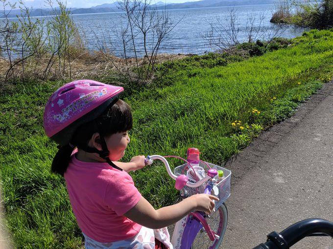 福島県・猪苗代町でサイクリング!