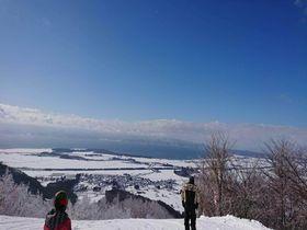 銀世界と猪苗代湖の絶景!福島「リステルスキーファンタジア」
