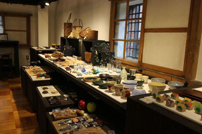 匠の技、津軽の伝統工芸品がずらり!