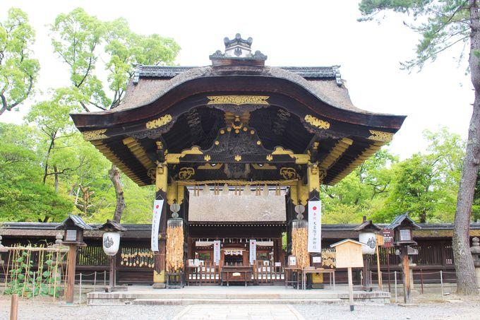 豊国神社の象徴、国宝・唐門