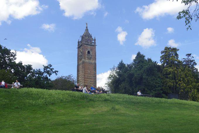 カボットタワーに登ってブリストルの街を一望