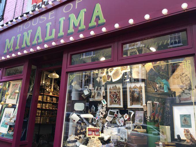 2人のデザイナー・ミナとリマの夢が詰まったお店