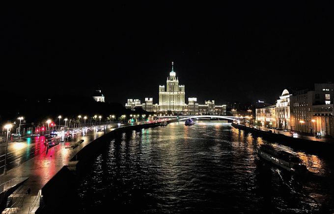モスクワの夜景もここで満喫!