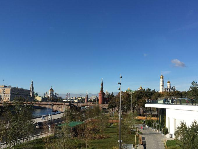 これぞモスクワ!モスクワ川沿いの景色を堪能!