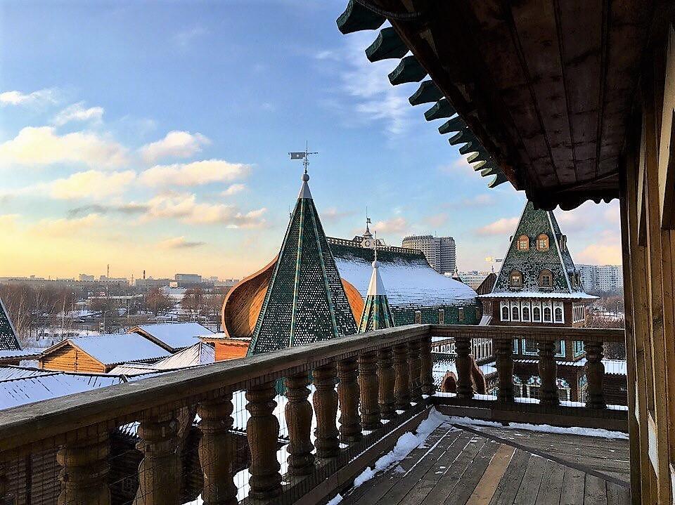 バルコニーからの美しい眺めを!