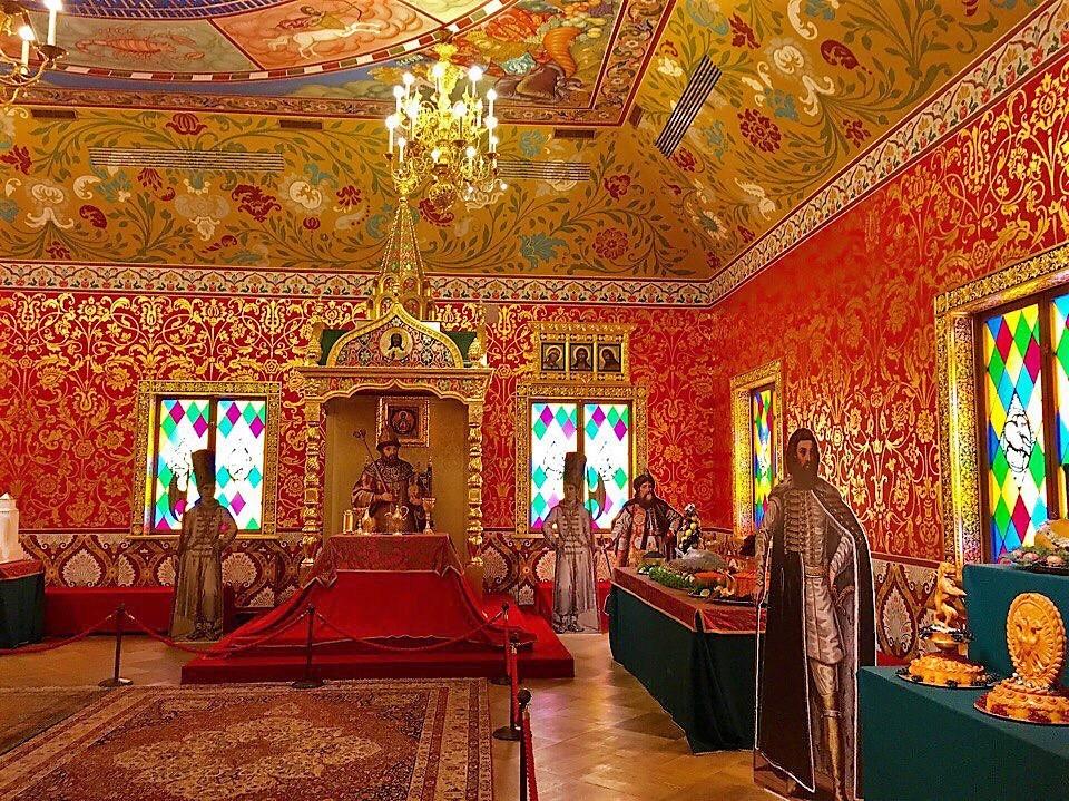 初期ロマノフ王朝の雰囲気を体感!モスクワ「アレクセイ・ミハイロヴィチ帝の宮殿」