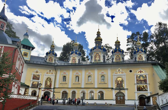 中世ロシアを色濃く残す修道院