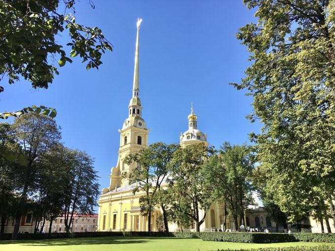 要塞のシンボル、大聖堂