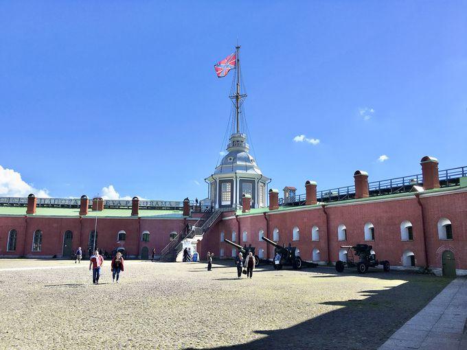 要塞からサンクトペテルブルクを一望!