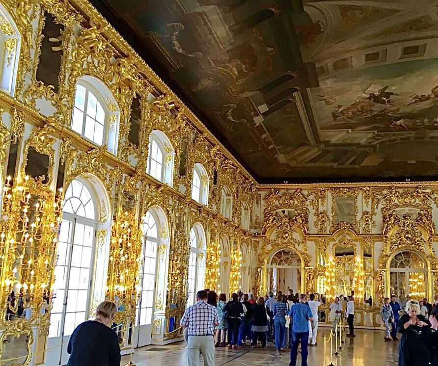 日本人がエカテリーナ2世と謁見した宮殿!