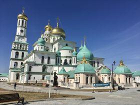 ロシアのエルサレム?「新エルサレム修道院」モスクワ郊外イーストラ