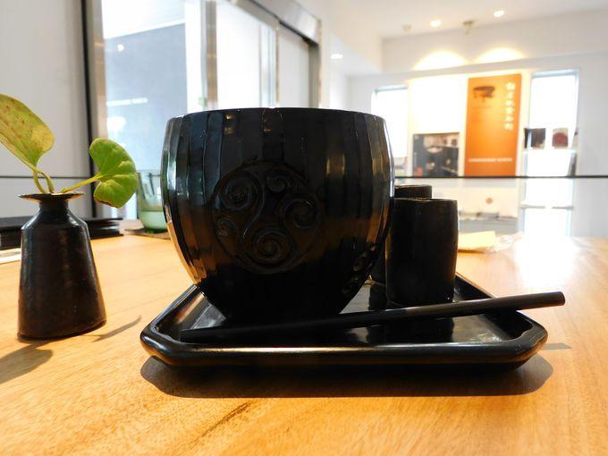 レッスンその3 鎌倉彫の器を惜しげもなく使う