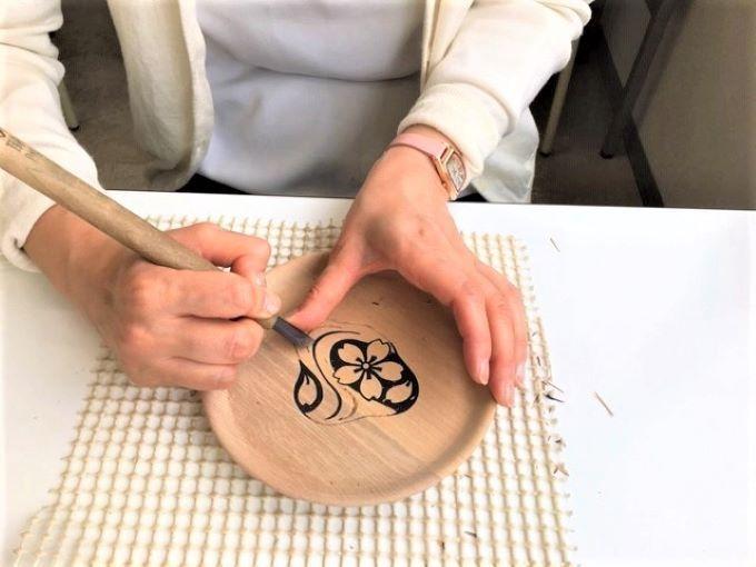 レッスンその2 鎌倉彫の体験教室に参加する