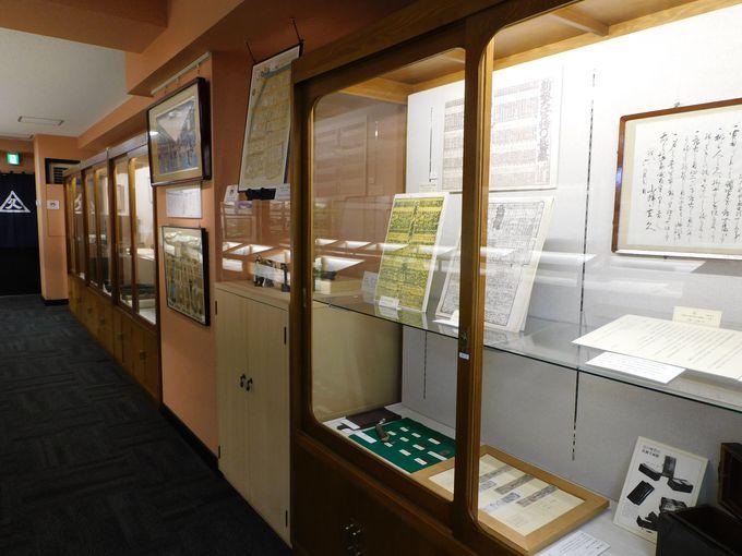 「小津和紙」のヒストリーがよくわかる史料館