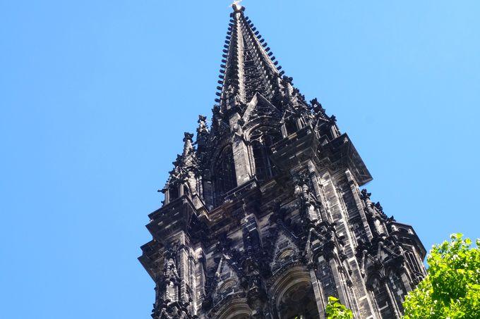 最上階から見渡すハンブルグ、圧巻の街並み