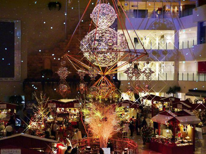 クリスマスシーズンだけの美しい祝祭広場