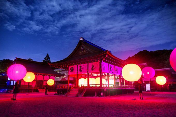 「呼応する球体 – 下鴨神社 糺の森」