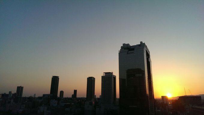 半沢の勤め先「東京中央銀行 大阪西支店」の屋上という設定のビル