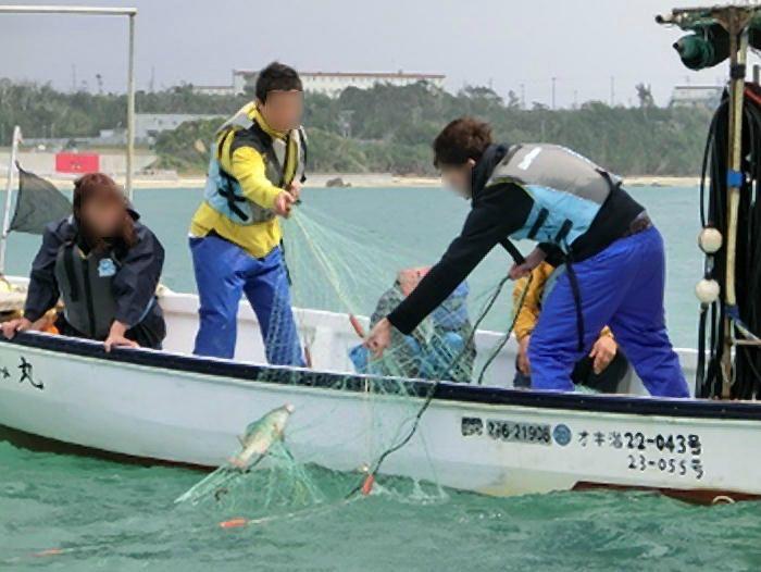刺し網漁で大漁を狙え!