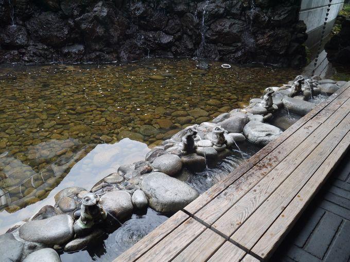 城崎温泉の駅の横 さとの湯