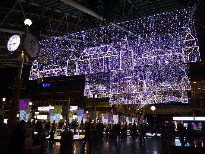 大阪駅の真上に「トワイライトファンタジー」