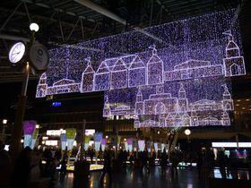 大阪のライトアップはココがおすすめ! 大阪駅トワイライトファンタジーと御堂筋イルミネーション
