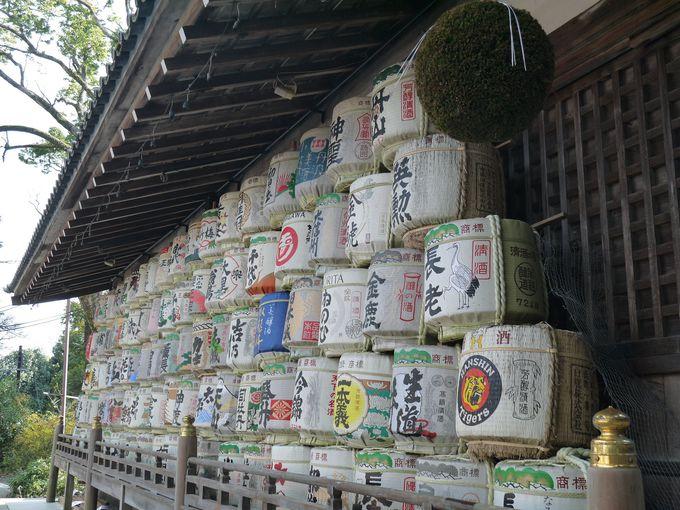自然崇拝が起源の松尾大社