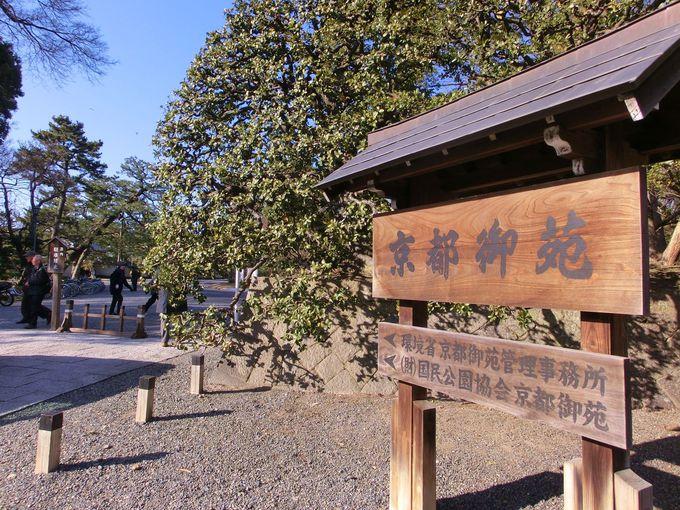 京都御苑と京都御所
