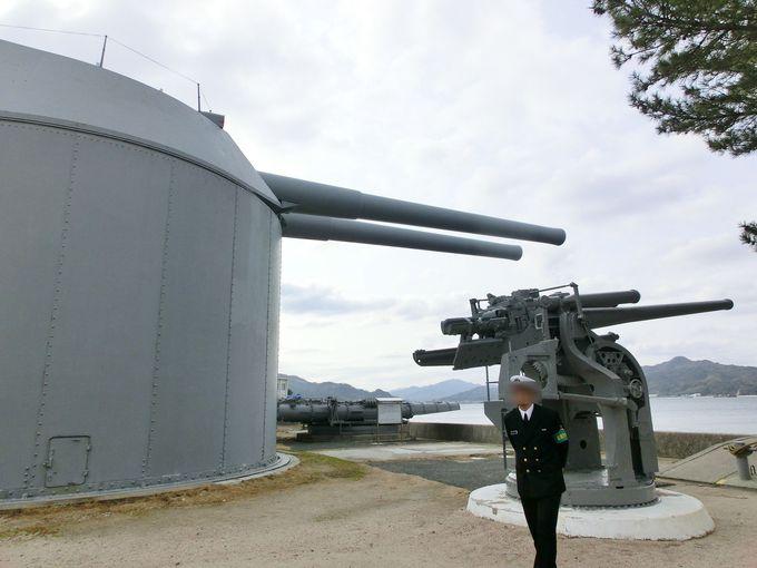4.旧海軍兵学校「戦艦陸奥の主砲」
