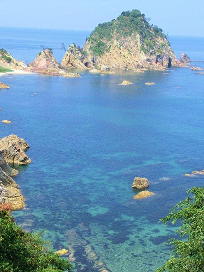 レンタサイクルで海岸を走る「Free!」聖地巡礼!鳥取県岩美町