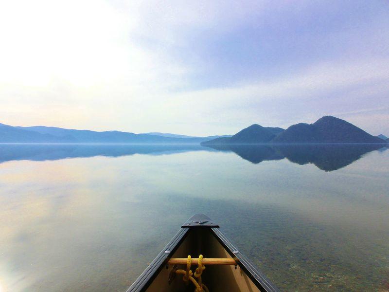 洞爺湖カヌーはSNS映え抜群!北海道のウユニ湖って?