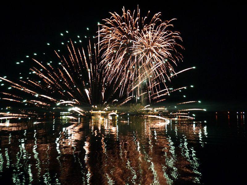 春から秋まで楽しめる!洞爺湖ロングラン花火大会を鑑賞船で