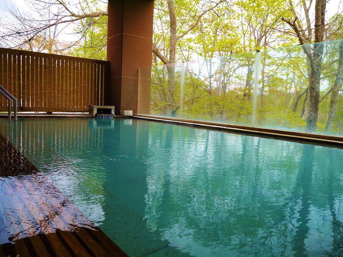 森の天空露天風呂