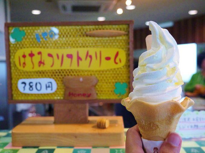 ここでしか食べれないソフトクリーム