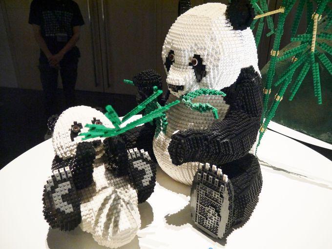 パンダの肉球まで再現